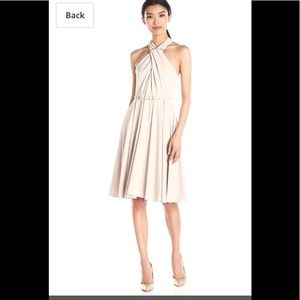 Halston Heritage halter dress